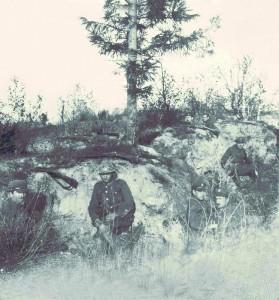 Wojsko polskie na liniach obronnych pod Radzyminem