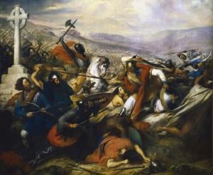 Bitwa pod Poitiers, obraz Charlesa de Steubena