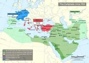 Podboje muzułmańskie we wczesnym średniowieczu