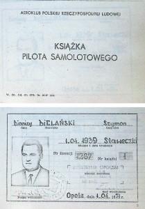 Dokumenty nalezené v místě nehody - ukázka (Zbytek pilotní