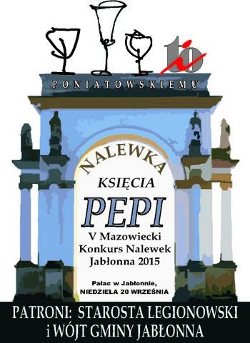logo NALEWKA KSIĘCIA PEPI 2015
