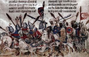 Kilka lat wcześniej, w1099 r., krzyżowcy odzyskali Ziemię Świętą iutworzyli Królestwo Jerozolimy