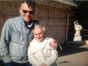 Maciej Pawlicki z bohaterką swojego filmu Stellą Zybersztajn