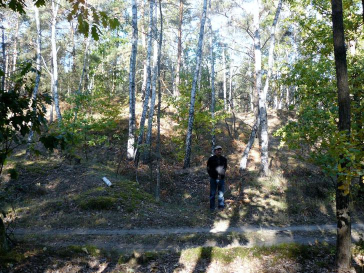 1. Grzegorz Marciniak na tle pierwszej góry net