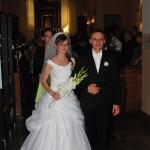 1 sierpnia 2015 roku wkościele Nawiedzenia Najświętszej Marii Panny wBłędostowie związek małżeński zawarli Iwona Izbicka iMateusz Sieńkowski