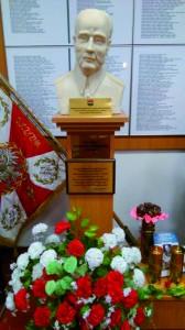 Popiersie gen. Wiktora Thommee w Muzeum Kampanii Wrześniowej i Twierdzy Modlin