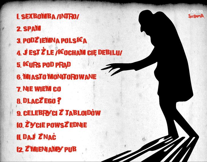 spam_Sexbomba tracklista NET
