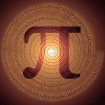 number Pi spiral